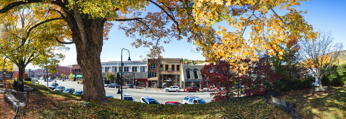Landscape image of Downtown Boone